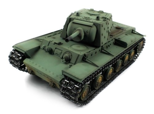 Taigen Russian KV-1 Electric Airsoft RC Tank Metal HC Series World War II WWII 2.4GHz Big 1:16 Scale Ready To Run RTR, Shoots Airsoft BB's