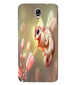 ColourCraft Amazing Creature Design Back Case Cover for SAMSUNG GALAXY NOTE 3 NEO N7505