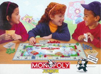 7 Pack GENERAL SALES INC - HASBRO GAMES MONOPOLY JUNIOR