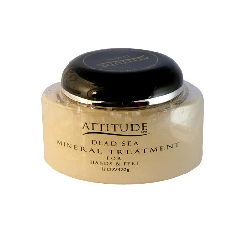 Attitude Line Lemon Salt Scrubs, 11Ounce