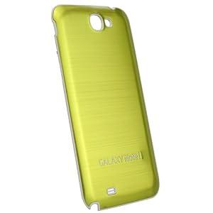 xubix Battery Cover Akkudeckel für das Samsung Galaxy Note II N7100 in brushed full metal green