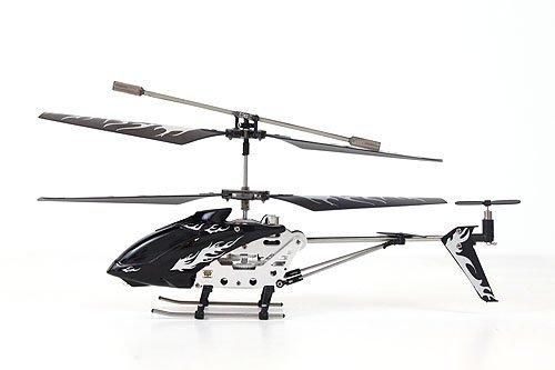 Helizone RC Firebird Mini Remote Control Helicopter- Black with Mini Tool Box (fs)