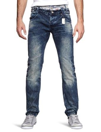 desigual jean straight fit homme bleu jeans oscuro. Black Bedroom Furniture Sets. Home Design Ideas