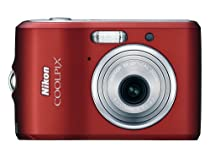 Nikon Coolpix L18 8MP Digital Camera with 3x Optical Zoom (Ruby Red)