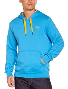 Puma FD ESS FL Sweat  capuche homme Brilliant Blue FR : 44/46 (Taille Fabricant : S)