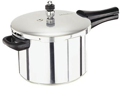 Manttra 4 Quarts Aluminum Pressure Cooker from Mercantile International