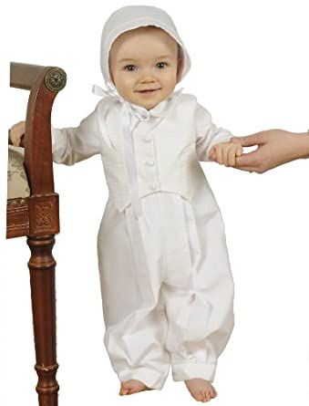 Austin 100% Cotton Boys Christening Outfit for Boys, Made in USA