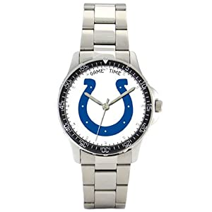 NFL Mens FC-IND Indianapolis Colts Coach Series Watch by Game Time