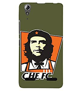 PRINTSHOPPII CHELSEA FOOTBALL CLUB Back Case Cover for Lenovo A6000
