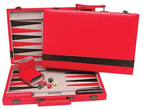 Red and Black Backgammon Set - Buy Red and Black Backgammon Set - Purchase Red and Black Backgammon Set (Wood Expressions, Toys & Games,Categories,Games,Board Games,Checkers Chess & Backgammon)