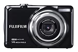 Fujifilm FinePix JV500 Digital Camera - Black (14 MP, 3x Optical Zoom, Rechargeable Lithium Battery) 2.7 inch LCD