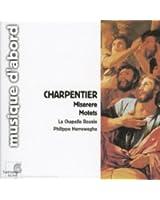 Charpentier - Miserere / Motets