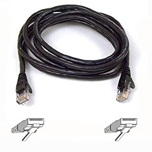 Belkin High Performance 7ft Cat6 Patch Cable (Black) by Belkin Components