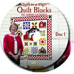 Quilt Blocks on American Barns DVD with Eleanor Burns
