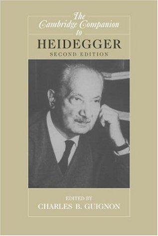Martin Heidegger and Nazism