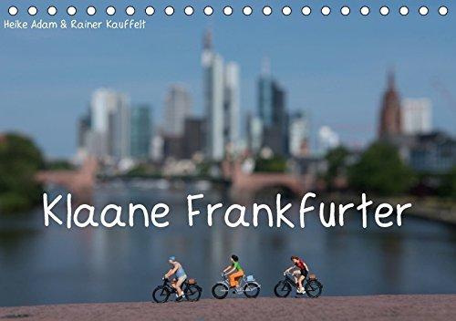 Klaane-Frankfurter-Tischkalender-2017-DIN-A5-quer-Figuren-im-Format-187-daheim-und-on-tour-Monatskalender-14-Seiten-CALVENDO-Spass