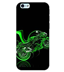 PrintDhaba CONCEPT BIKE D-6561 Back Case Cover for APPLE IPHONE 6 (Multi-Coloured)