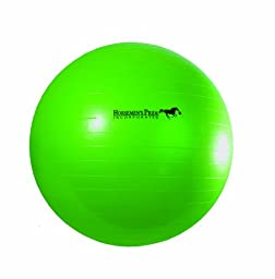 Horsemen\'s Pride 40-Inch Mega Ball for Horses, Green