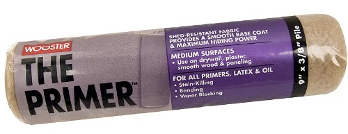 Wooster Brush R201-9 The Primer Roller Cover 3/8-Inch Nap, 9-Inch