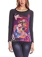 SIDECAR Camiseta Manga Larga Ines (Gris)