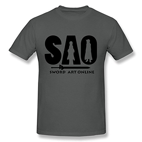Men's SAO Sword Art Online T-shirt White XLarge