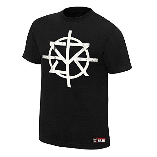 WWE -  Canotta  - Uomo nero medium