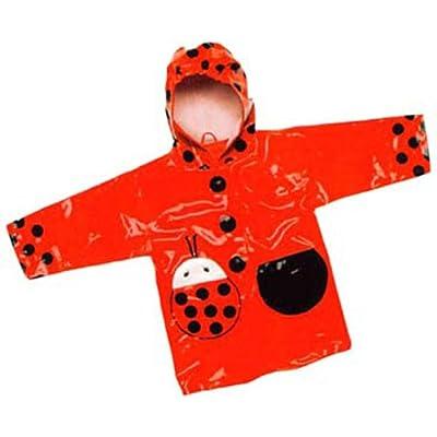 Kidorable Red Ladybird Raincoat