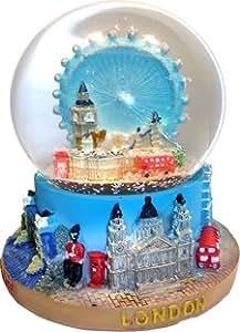 snow globes 1063 boule neige avec london eye et paysage. Black Bedroom Furniture Sets. Home Design Ideas