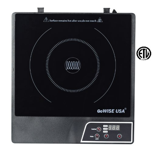 GoWISE USA GW22604 Kitchen Electric Induction Glass Smooth top Cooktop