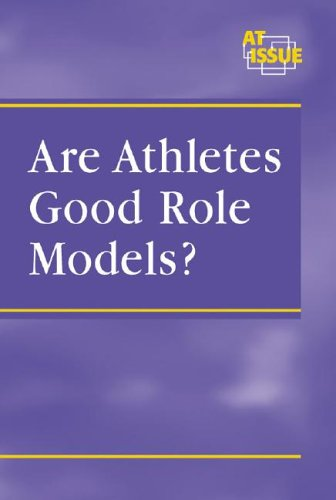 role model athletes essay What determines the nature of a coach's influence on athletes there are many factors in play, but a primary one is the character of the coach  coaches should be role models opportunity and.