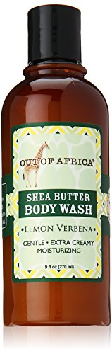 Out Of Africa Body Wash with Organic Shea Butter Lemon Verbe