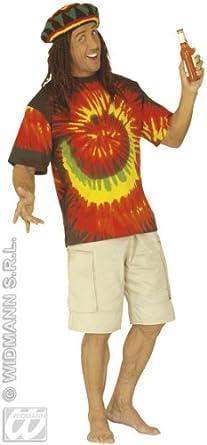 Rasta T-Shirt für Erwachsene - XL