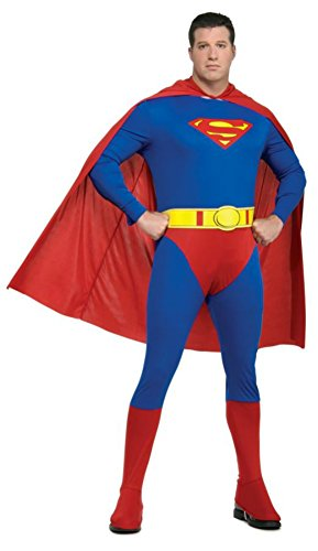 Rubies Mens Superman Marvel Theme Party Superhero Halloween Costume