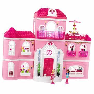 Top Supreme Mega Bloks Barbie Build 'N Style Luxury Mansion - Cleva Edition H8' Bundle