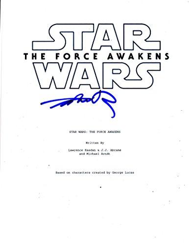 JOHN BOYEGA FINN SIGNED STAR WARS THE FORCE AWAKENS SCRIPT AUTOGRAPH PROOF COA