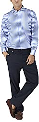 Silkina Men's Regular Fit Shirt (FSUPXFA, 42)