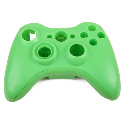 Hde Replacement Xbox 360 Controller Shell Cover & Buttons (Green) front-257848
