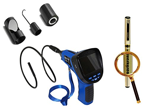 "Blueskysea Free Gift Gel Pen + 3.5"" 8.5Mm Snake Inspection Endoscope Borescope Camera Dvr+Mirror/Hook/Magnet"