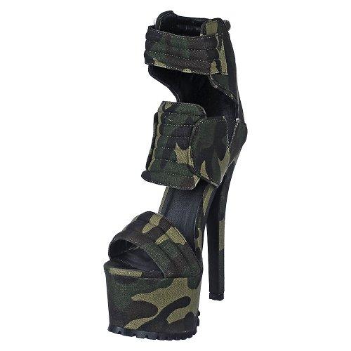 Dress High Heel - CAMOUFLAGE