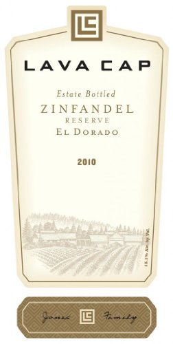 2010 Lava Cap Zinfandel Reserve Estate 750 Ml