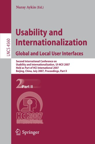 Usability and Internationalization. Global and Local User Interfaces: Second International Conference on Usability and I