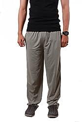 Colors & Blends -Mouse color- Cotton blended Track Pants with Zipper Pockets- Size XS