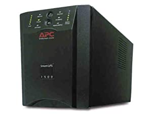 APC SUA1500 1500VA Smart UPS for Servers and Voice and Data Networks (Discontinued by Manufacturer)
