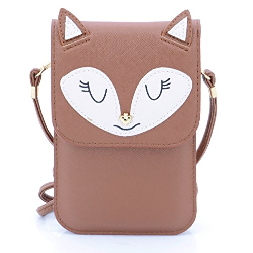 u-times-universel-multi-usage-taille-s-cute-cartoon-motif-renard-en-cuir-synthetique-bandouliere-epa