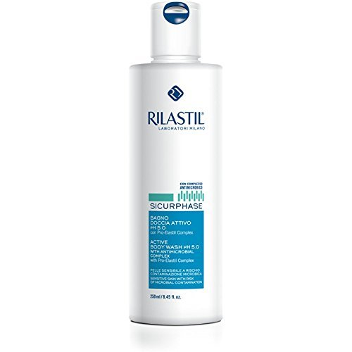 Sicurphase Active Body Wash Ph 5.0 250 ml by Rilastil