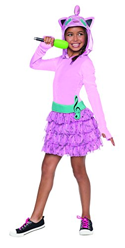 Rubie's Costume Pokemon Jigglypuff Child Hooded Costume Dress Costume, Medium