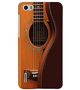 PrintVisa Music Guitar Strings 3D Hard Polycarbonate Designer Back Case Cover for Huawei Honor 6