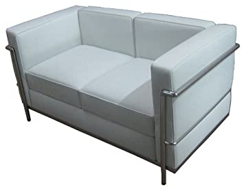 RetroMod Cubo2 Loveseat - White