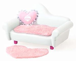 Interior white sofa Rika Rika-chan (japan import)