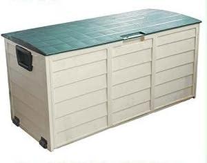 Plastic Garden Outdoor Storage Box With Security Lock